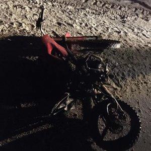 В Тульской области погиб пассажир питбайка
