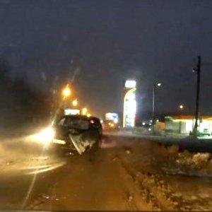 В ночь на 30 декабря в Тульской области «Нива» врезалась в «Газель»